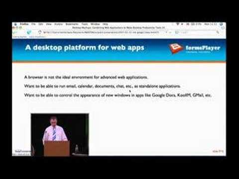 Desktop Mashups: Combining Web Applications to Make...