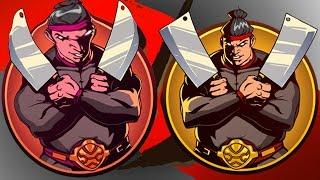 БИТВА З БОСАМИ М'ясник і охоронці ігровий мультик Shadow Fight 2 бій з тінню