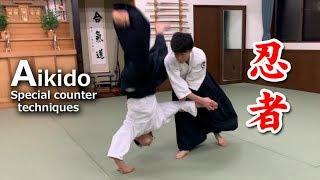 Aikido - Special counter techniques (Ninja counter) Shirakawa Ryuji shihan