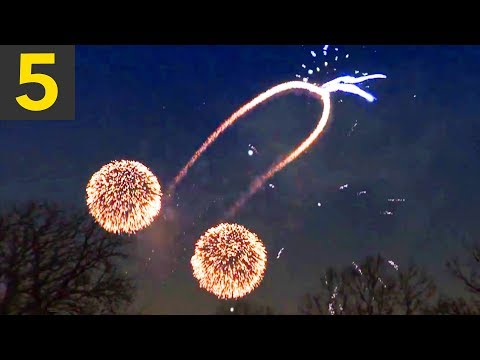 Top 5 Weird & Amazing Fireworks