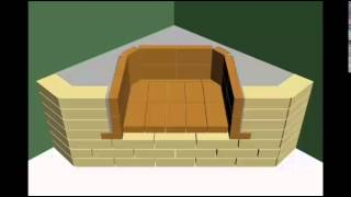 Steps of making a fireplace (Ahmed Calo)