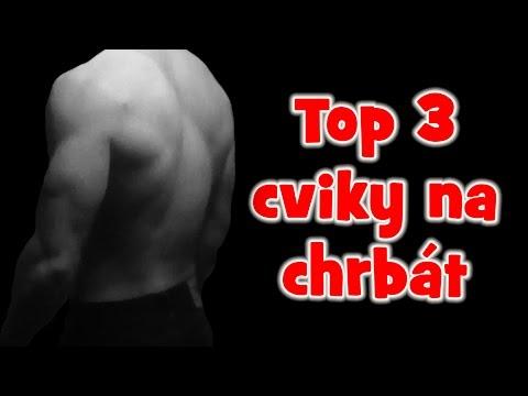 Ako Cvičiť Chrbát - TOP 3 Najlepšie Cviky Na CHRBÁT