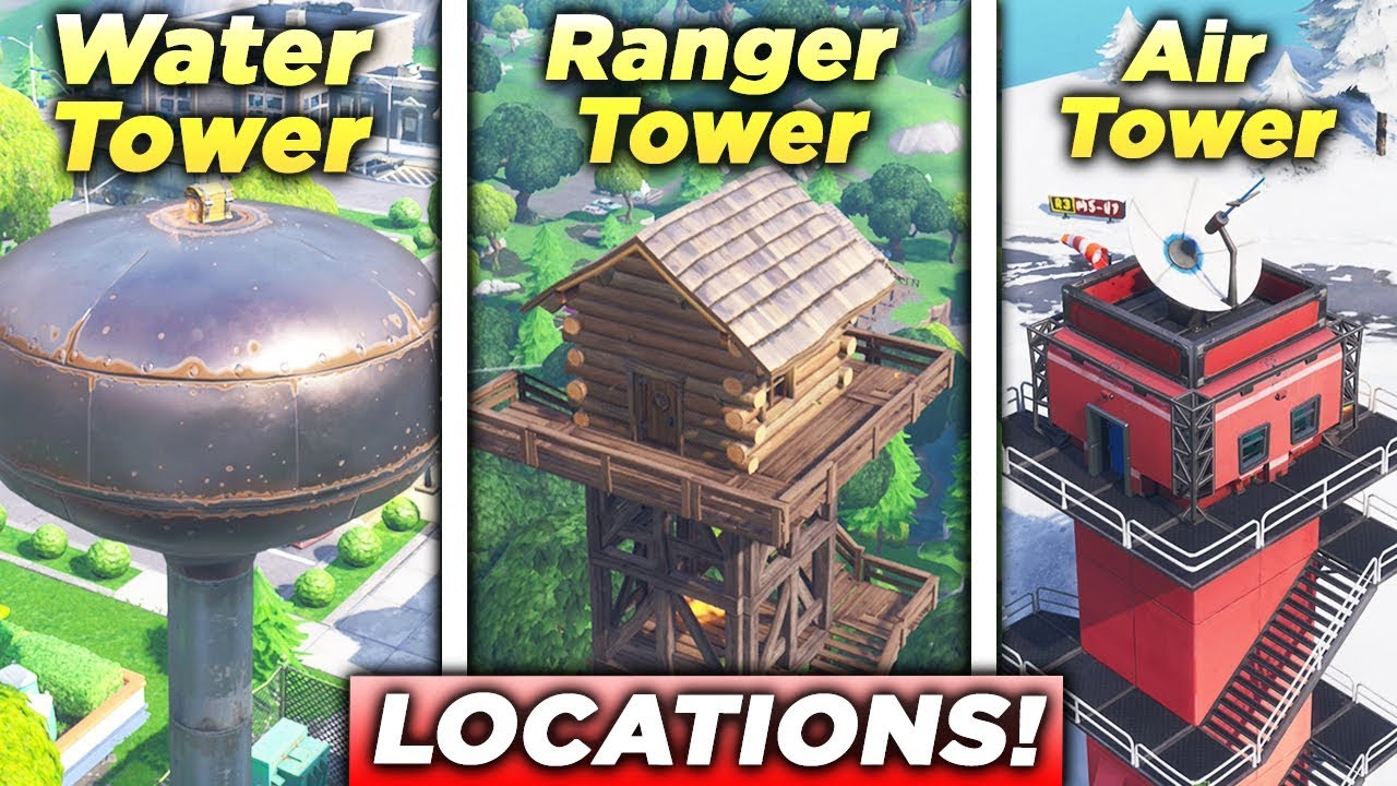 dance on top of a ranger tower
