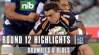 ROUND 12 HIGHLIGHTS: Brumbies v Blues - 2019