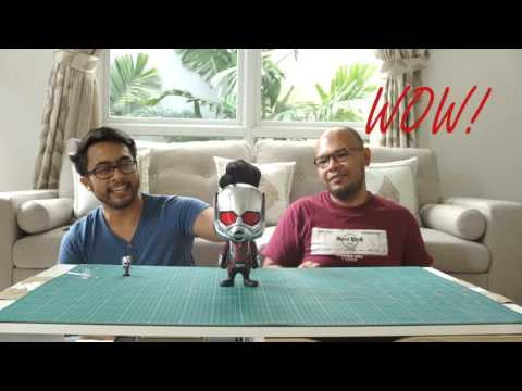 Unboxing & Review Cosbaby Giant Ant Man