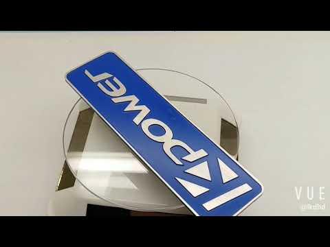 Anti-UV Anodized Aluminum Metal Name Plates