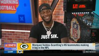 Marquez Valdes-Scantling On Rookie Season, Training With Randy Moss, Playing With Aaron Rodgers