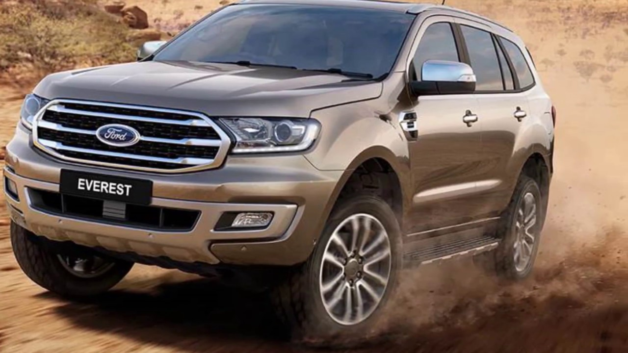 2019 Ford Everest ( Endeavour) Facelift Officially