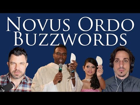 Novus Ordo Mass Buzzwords