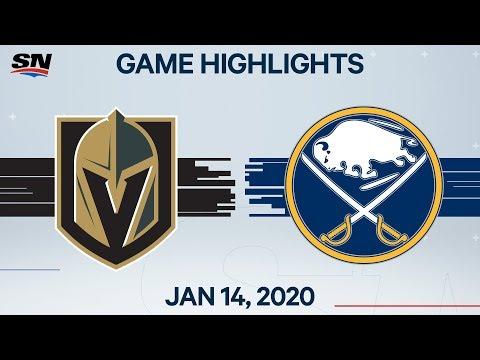 NHL Highlights   Golden Knights vs Sabres – Jan. 14, 2020