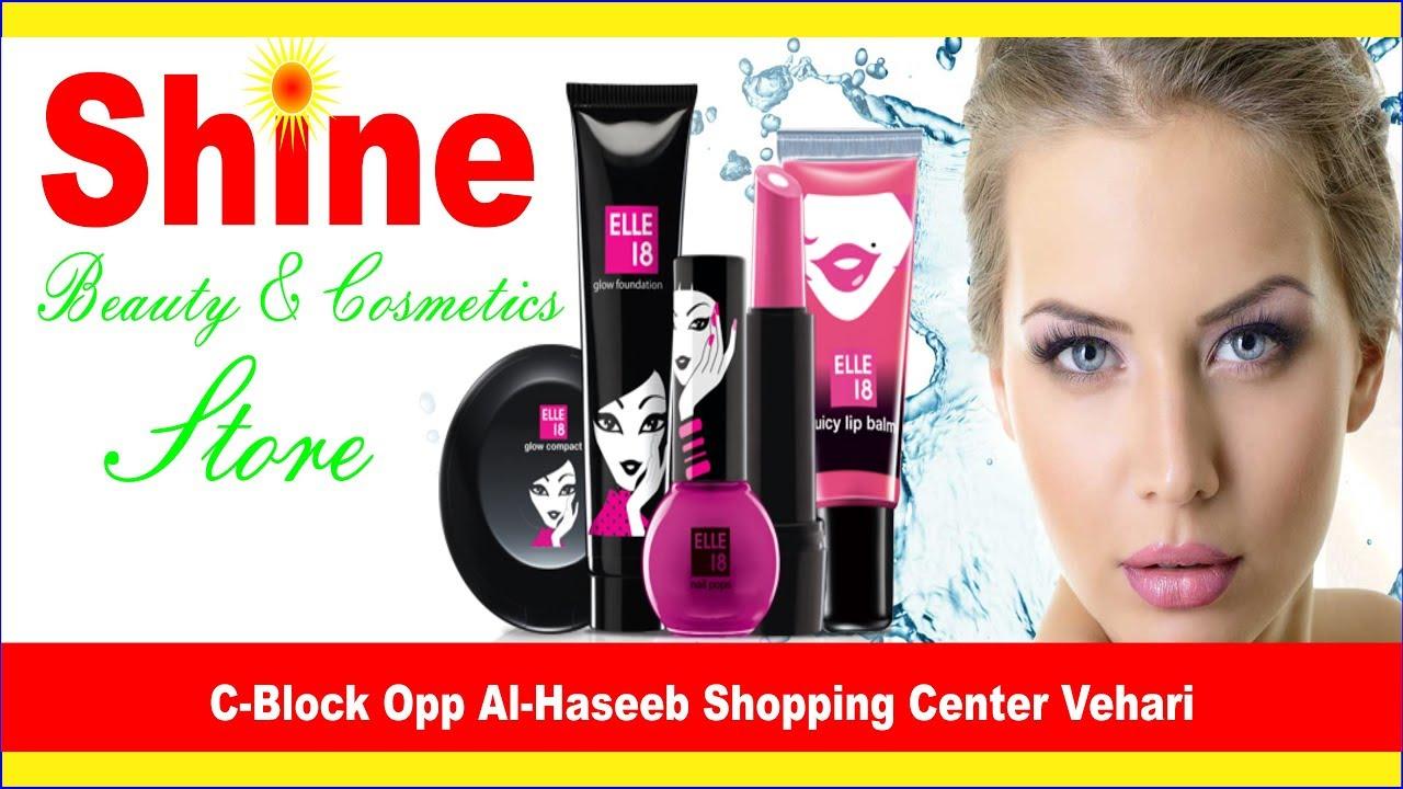 Design Shop Cosmetic Shop Flex Board Design
