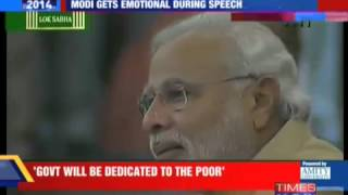 Advani Makes Narendra Modi Cry