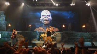 Iron Maiden live in Newcastle (The Book of Souls Tour)