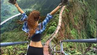 Go Pro Hero 5 - HAWAII - Haiku Stairs - Stairway to Heaven (Legal Way to an ILLEGAL HIKE)
