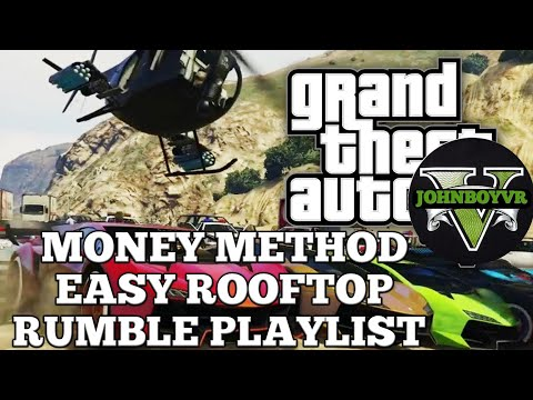 *EASY MONEY* AND *RP* GTA 5 ONLINE MONEY METHOD PLAYLIST SOLO xbox one/pc/ps4 contact mission