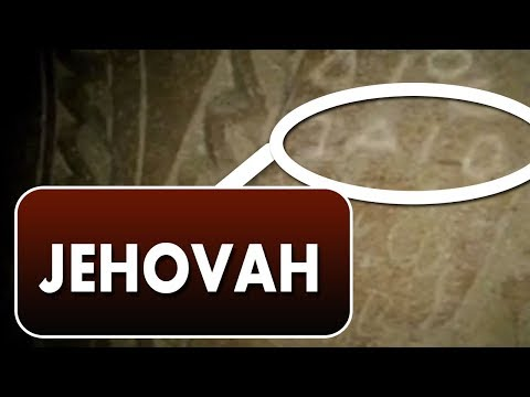 Archaeological Find proves that God's name is JEHOVAH! Amazing!