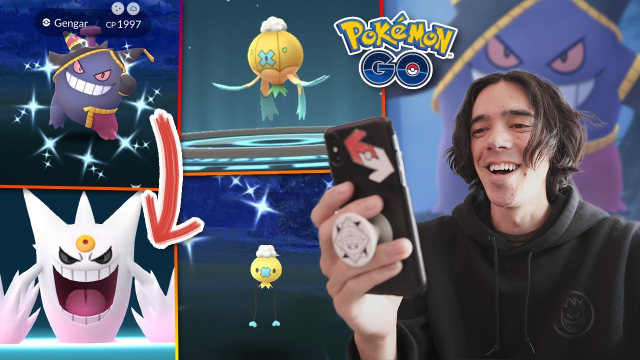 MY LUCKIEST SHINY EVENT EVER?! POKÉMON GO HALLOWEEN 2020!