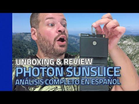 Mejor CARGADOR SOLAR para móvil 2021 📱 PHOTON SUNSLICE