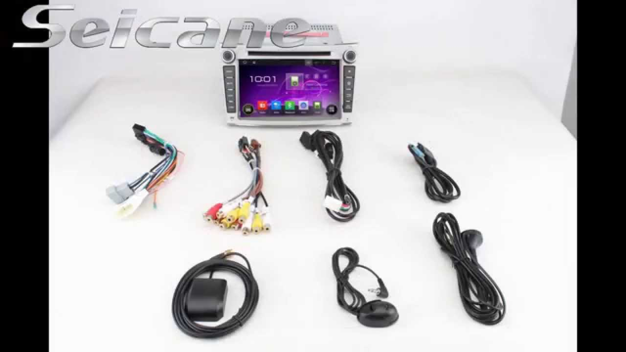 Android 44 Hd Touchscreen 2009 2010 Subaru Legacy In Dash Radio B4 Wiring Diagram Navigation With Bluetooth Music Youtube