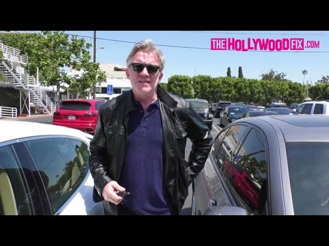 Anthony Michael Hall Speaks On His Upcoming Film With Brad Pitt At Fred Segal 5.2.17
