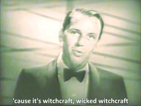 Frank Sinatra - Witchcraft - Live on TV - 1958 - with lyrics