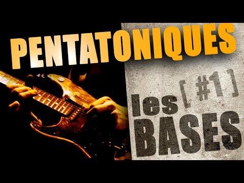 LES BASES DE LA GAMME PENTATONIQUE #1