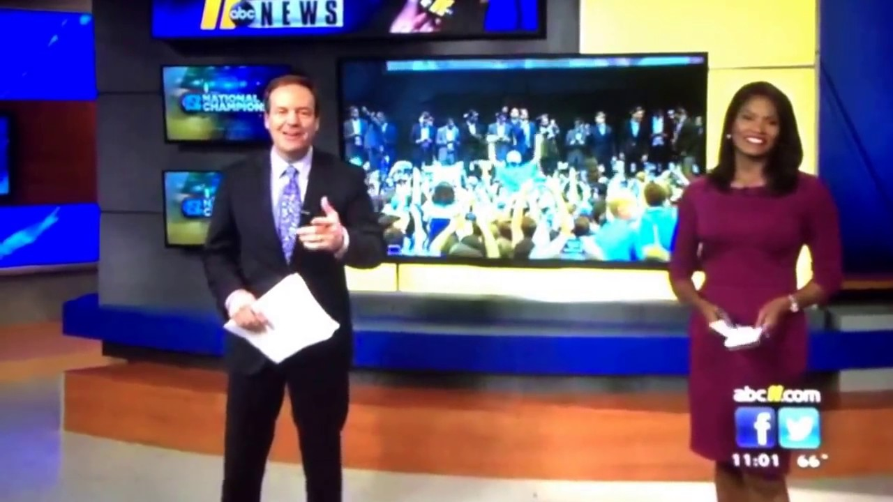WTVD ABC 11 Eyewitness News at 11pm open April 4, 2017