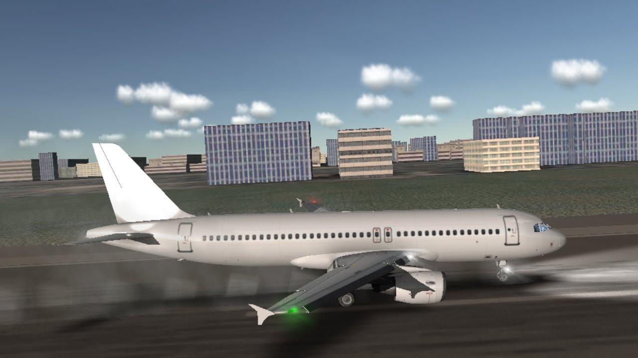 A320 High Speed Landing