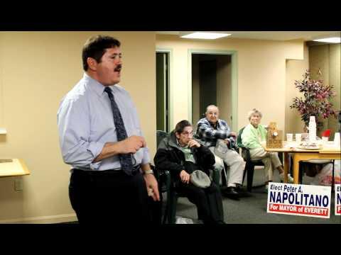 Napolitano for Mayor - Park  Plaza / Everett, Massachusetts