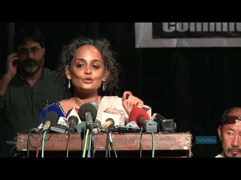 Arundhati Roy at the Azaadi Conference