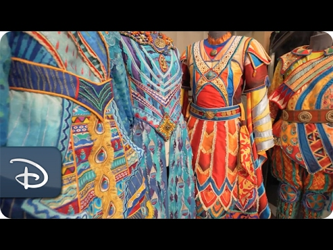 Ancient Techniques & Digital Technology Behind 'Rivers of Light' Costumes