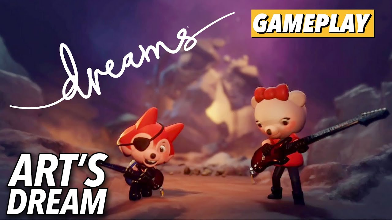 Dreams - Art's Dream Gameplay | Kotaku - Kotaku