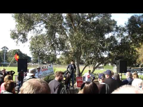Jodi McKay MP - WestCONnex Independence Day rally - Concord 04/07/2015