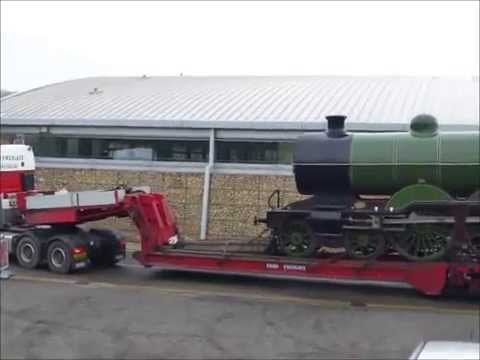Great Northern Railway No 251 arriving at N.R.M. Shildon 30/04/14