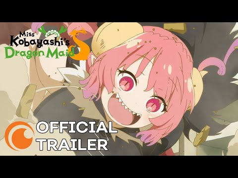 Miss Kobayashi's Dragon Maid S   OFFICIAL TRAILER