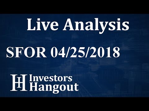 SFOR Stock Strikeforce Technologies Inc. Live Analysis 04-25-2018