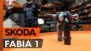 Montaż Końcówka drążka kierowniczego poprzecznego SKODA FABIA Combi (6Y5): darmowe wideo