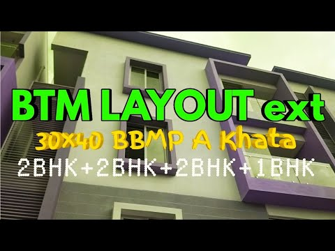 4 Unit New Property on 30x40 in BTM Layout Ext