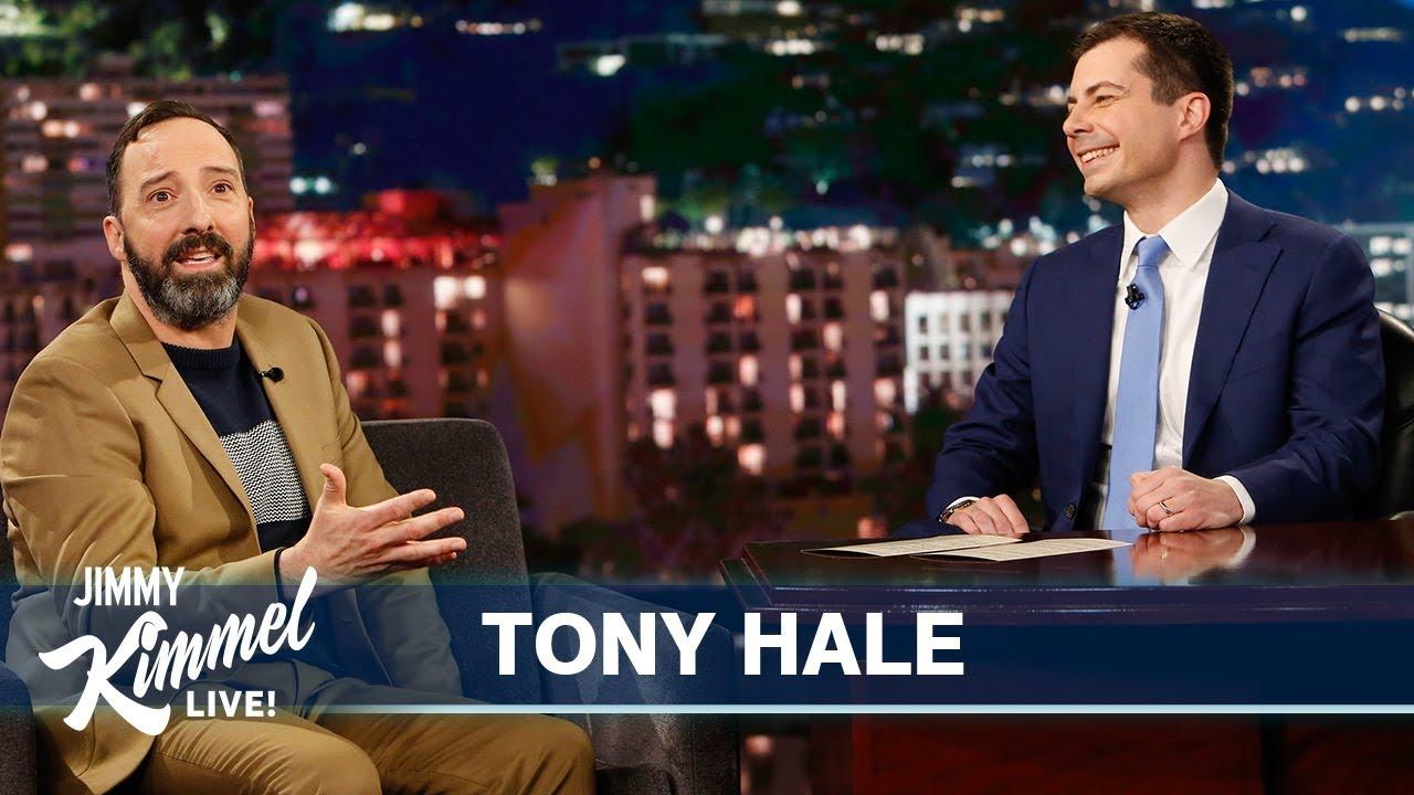 Guest Host Mayor Pete Buttigieg Interviews Tony Hale