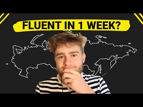 I tried to learn Russian in 7 Days