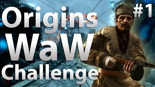 "Origins: World at War Challenge (Part 1) - ""Black Ops 2 Zombies"""