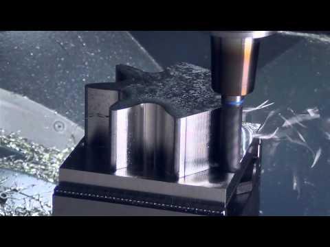 SolidCAM TZ Schramberg Bearbeitung mit HPC Fräsern