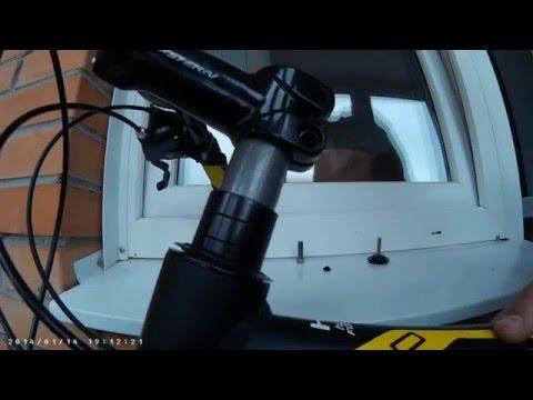 Как поднять(опустить) руль на велосипеде(велобайке) Stern