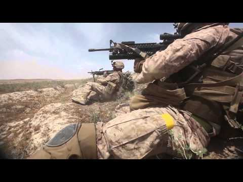 U.S. Marines: Contact on patrol in Kajaki, Afghanistan