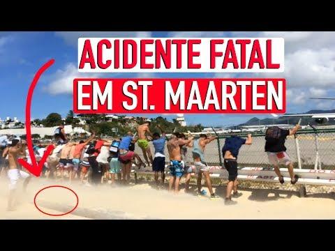 ACIDENTE FATAL EM ST. MAARTEN | NÃO FAÇA O JET BLAST CHALLENGE!!!