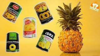 Рейтинг: Консервированные ананасы