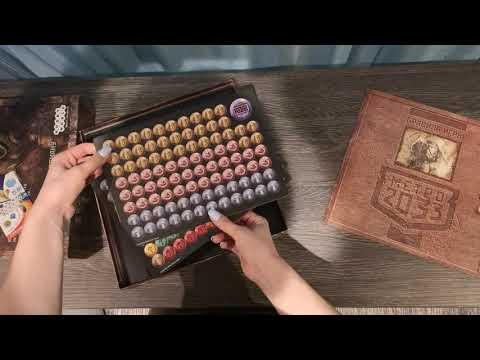 Настольная игра Метро 2033.  Распаковка и обзор