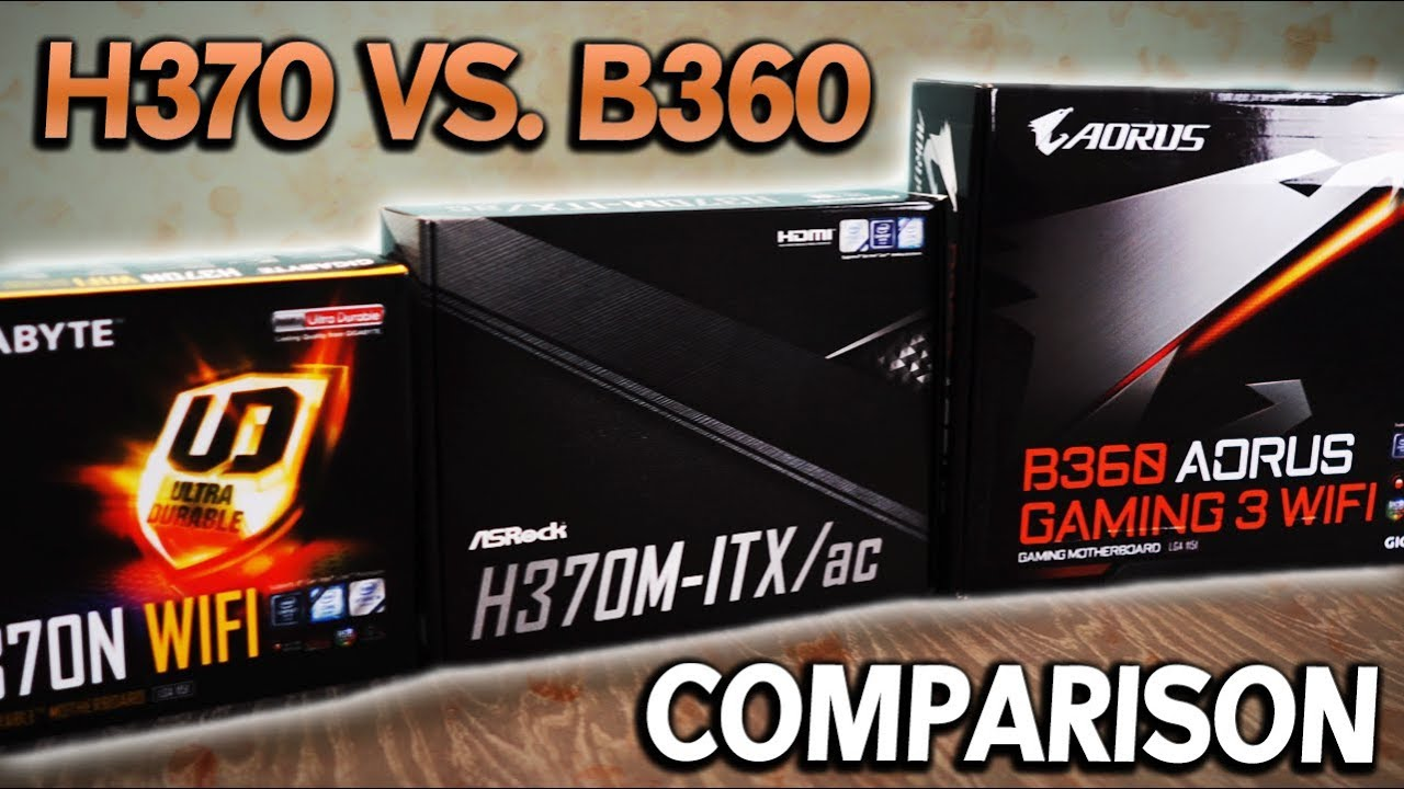 H370 Vs. B360 Motherboard Review  - Can It Handle an i7-8700 at 100% Load?