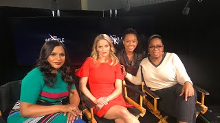Oprah Winfrey Reese Witherspoon Mindy Kaling Interview A Wrinkle In Time
