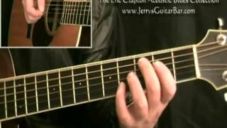 How To Play Eric Clapton Outside Woman Blues (introduction only)
